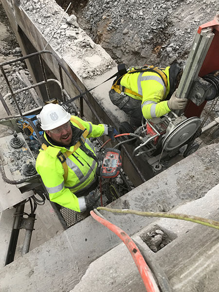 Concrete Wire Sawing is best done by professionals like Fine Cut.