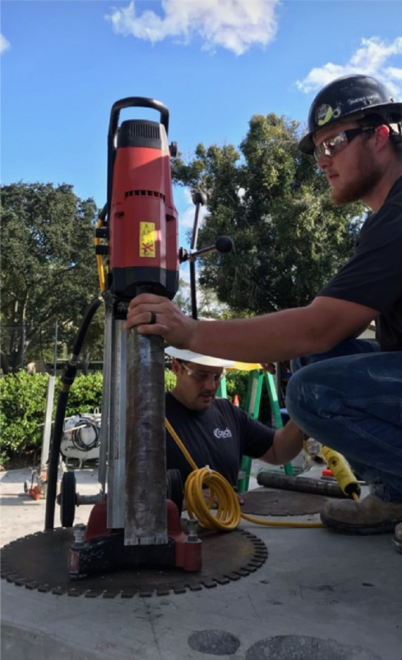 Core Drilling CSDA Concrete Core Drilling Inside And Outside By Fine Cut Professional Operators