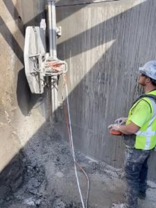 Diamond Concrete Wall Sawing Ensures Efficiency and Precision Fine Cut