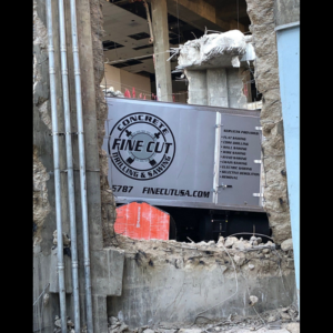 Concrete Cutting Delivers Construction and Demolition Solutions Fine Cut USA