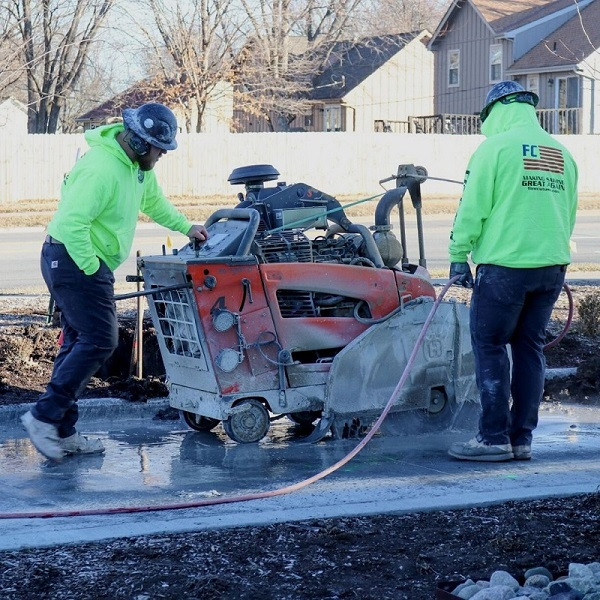 Concrete Slab Sawing for Missouri, Arkansas and Kansas Construction Projects Fine Cut USA