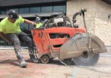 Concrete Slab Sawing Fine Cut matt ralston Makes Short Work Of Concrete Cutting