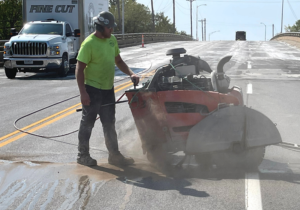 Concrete Slab Sawing Utilizes Special Tools and Skills